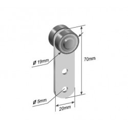 Bearing roller RM7