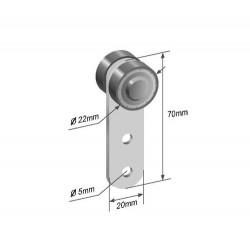 Bearing roller RM8