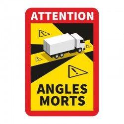 Naklejka martwe pole ciężarówka NMPT
